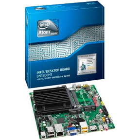Intel DN2800MT/MTE In Stock Atom N2800 Marshalltown Ultra Thin Mini-ITX Motherboard On-board 8-19V DC All-in-One,HTPC,MINI PC