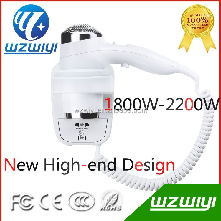 Hot selling 2 speed 3 heat setting professional hair dryer wall mounted 2000W Hair dry