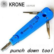Classic blue KRONE LSA-Plus Punch Down Tool with Sensor Network Punch Tool free shipping