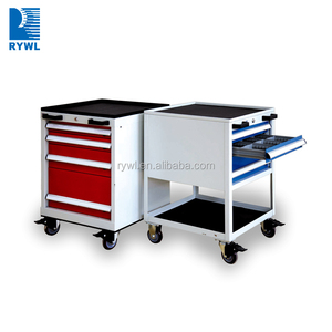 metal tool box with wheels/drawers tool trolley