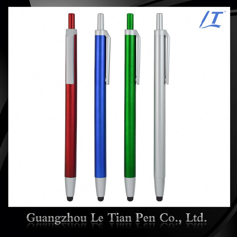 Simple Style Full Color Customized Oem Promotional Touch Pen In Unique Stylus Pens