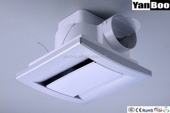 Ceiling Tubular Ventilation Fan Mount Kitchen Exhaust 12 Inch