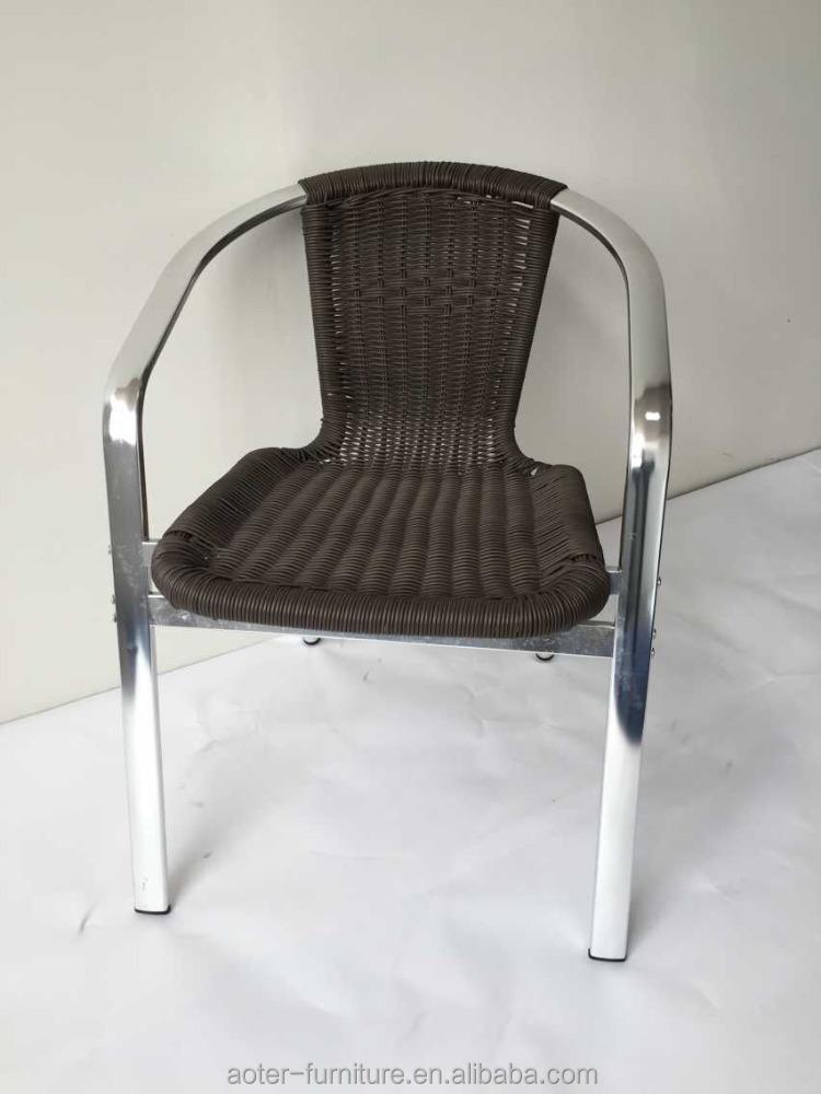 Grossiste ext rieur dinant la chaise en osier acheter les - Chaise exterieur aluminium ...
