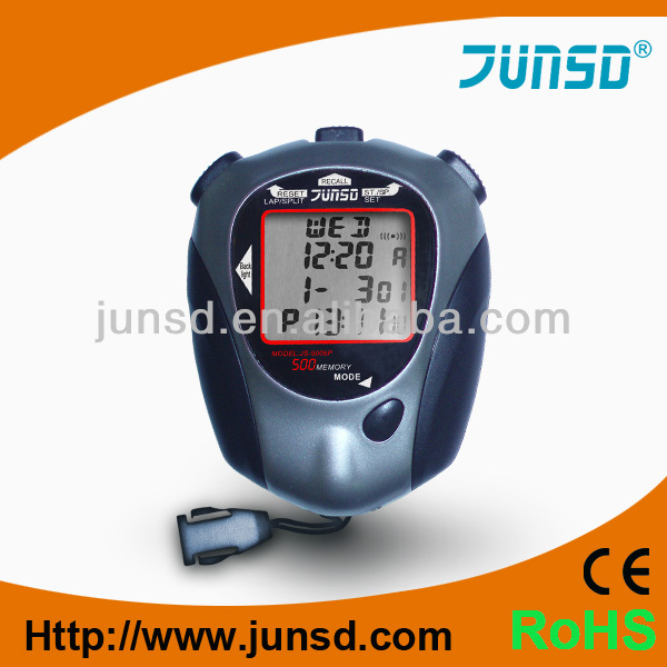 CE ROHS Digital stopwatch with USB Digital timer with USB JS-9006P