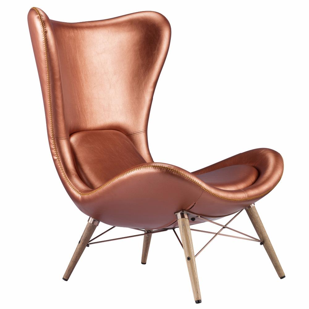 retro industriellen stil kupfer m bel bar freizeit stuhl mit kunstleder abdeckung antiker stuhl. Black Bedroom Furniture Sets. Home Design Ideas