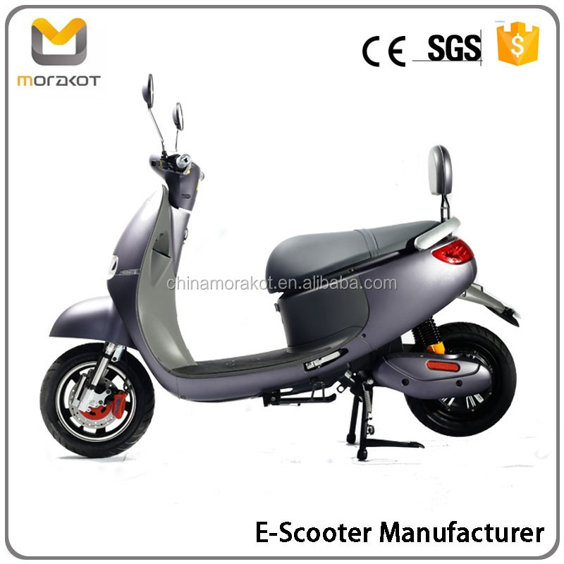 2016 Morakot CE Certificate 60V 800W High Quality Grey Color Gogoro Style Electric Scooter/Motorcycle For Sale BP15