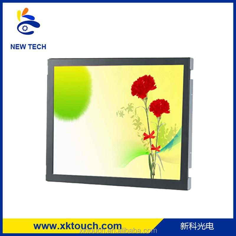 4:3/350 nits/ 1920x1080P 17 inch open frame LCD monitor, touch screen monitor