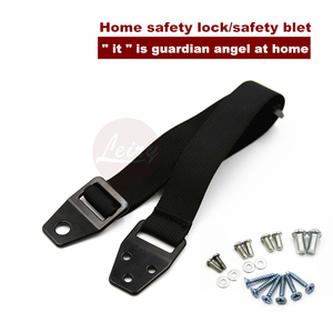 home safety baby lock safe furniture belt safe lock for cabinet kit connecters fttings