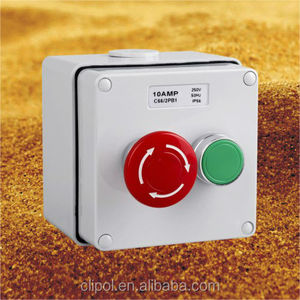 Featured products IP66 STOP/START Push Button Control stations Emergency stop switch