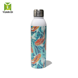 Yuandee custom 3D printing 500ml water bottle stainless steel vacuum flasks