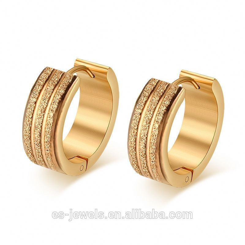 Quality Guaranteed Small Gold Earrings Designs For Men Girls - Buy ...