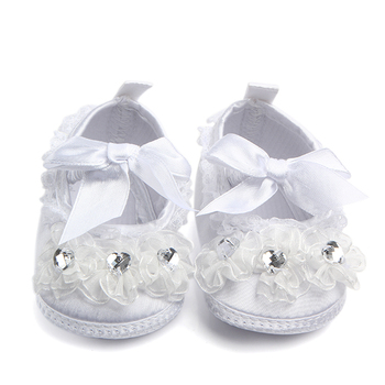 New arrival high quality princess baby christening shoes