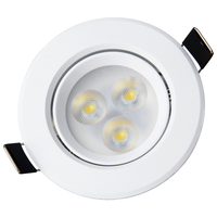 Led Recessed Ceiling Spotlights 3w Mini Small Spot Light Indoor Hotel Jewelry Shop IP44