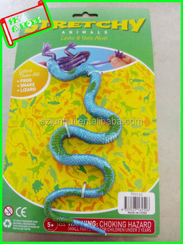 Plastic Stretch Animals Rubber Snake Toy - Buy Rubber Snake Toy ...