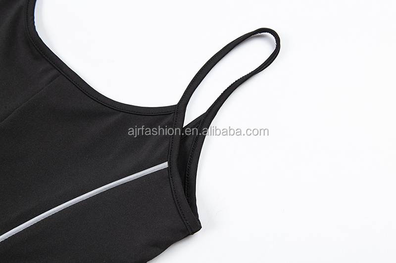 Sexy frau mode Strampler 2019 sommer backless nähte reflektierende strap harness overall
