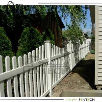 High Quality No Dig Plastic Fences Picket Factory Buy No