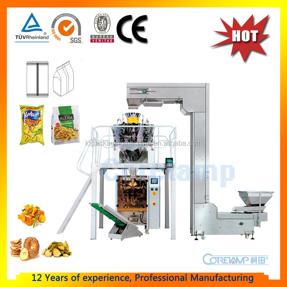Multihead 10 Heads Weigher Automatic Weighing and Packing Machine