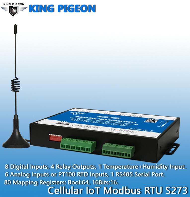 GPRS M2M RTU GSM IoT Solutions Modbus TCP/UDP S272