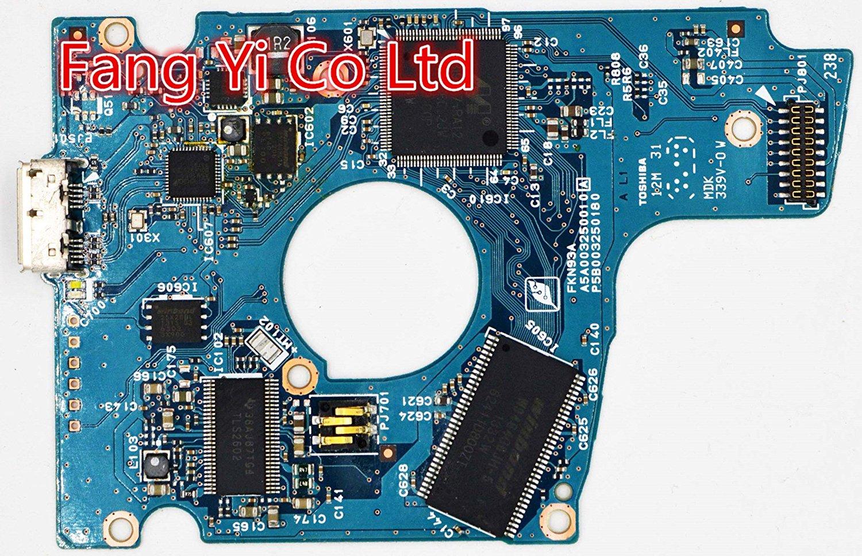 HDD PCB for Toshiba /Logic Board/Board Number: G003250A / MQ01ABC150,MQ01ABC100,MQ01UBD050