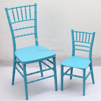 Factory Direct kids Resin White Wedding Chairs for Sale
