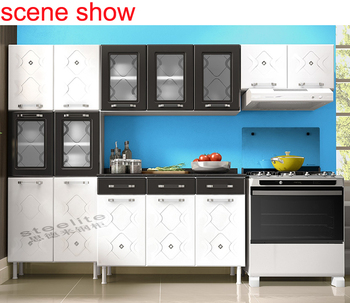 Metal Kitchens Furniture Manufacturers Brazil White And Red Color ...