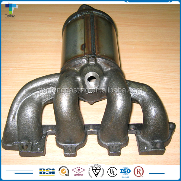 High Temperature cast iron exhaust manifold for auto parts