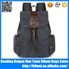 Alibaba China fashion small satchel daypack vintage travel canvas school rucksack backpack bag