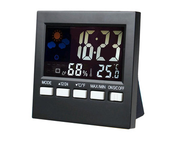 personalized electronic desk calendar thermometer electronic