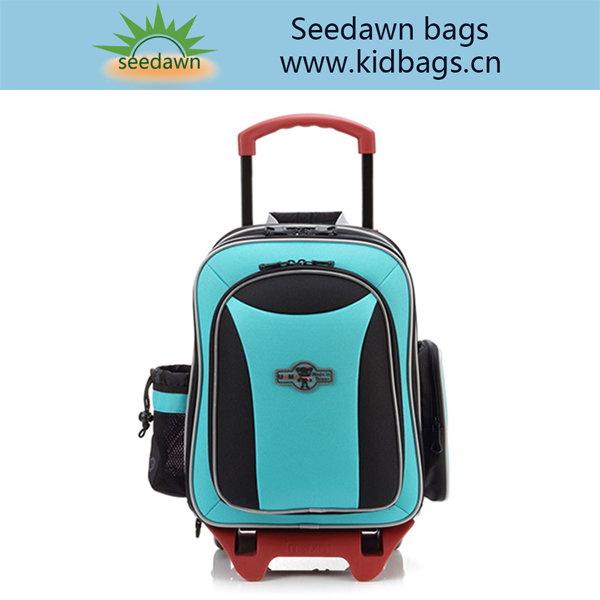 Detatchable Trolley School Backpacks with Detachable Bottom Wheel Set
