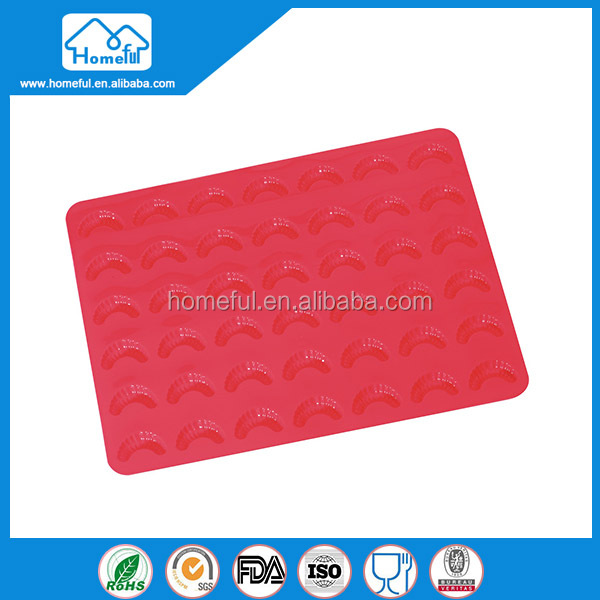 Wholesale food grade silicone backing mat silicone macaron baking mat