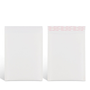 custom printed white Kraft paper bubble mailers envelopes padded post packaging shipping jiffy bags for air postage