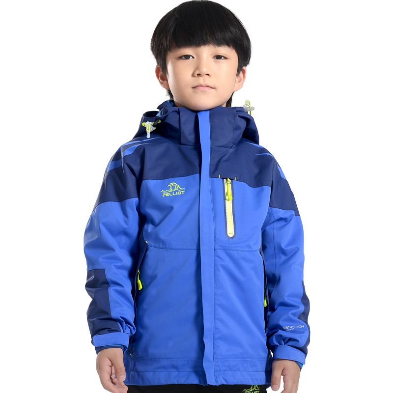 New Style Good Design Boys And Girls Outdoor Clothing Children Waterproof Breathable And Windproof Winter Kids 3 In 1 Jackets фото