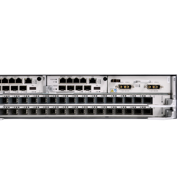 Hua Wei 19 Inch Chassis Ma5800-x15 Olt With 2 X 10g Uplink Control Mpla Numerous In Variety Fiber Optic Equipments
