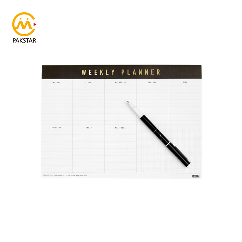 2020 Custom print large home office weekly planner journal agenda calendar book