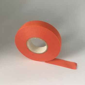 orange fabric cotton cloth insulating adhesive tape