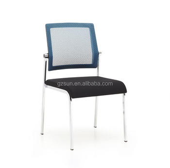 sunshine furniture chrome frame fabric stackable office chair
