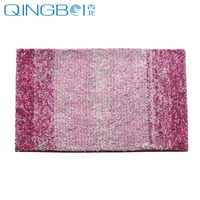 Pink Rug for Living Room Home Shaggy Area Rugs Microfiber Toilet Bathroom Rugs Set