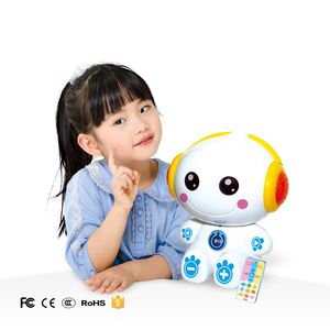 Children intelligent learning toys story teller machine with recording function