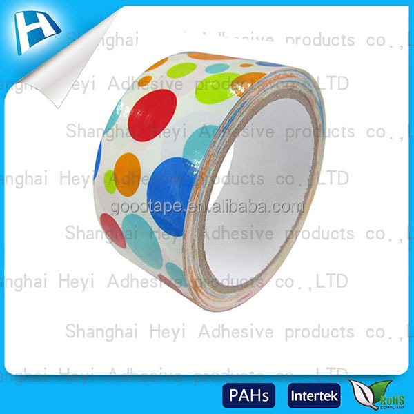 2017 hot selling no residue clearance stock lots in china decorative duct tape wide varieties