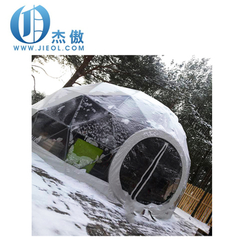 Stainless Steel Winter Camping Geodesic Dome Tent For Sale ...