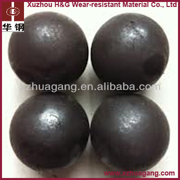 Dia. 80-120mm metal mine chrome steel balls in casting