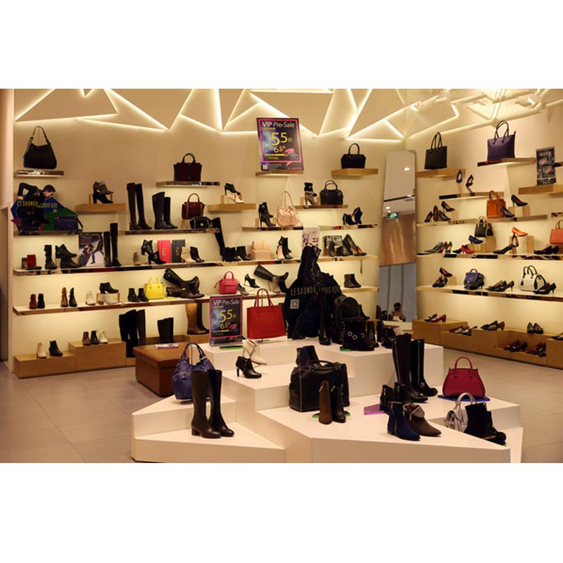 af6803a52 High End Retail Wooden Shoe Shop Decoration Ideas - Buy Shoes ...