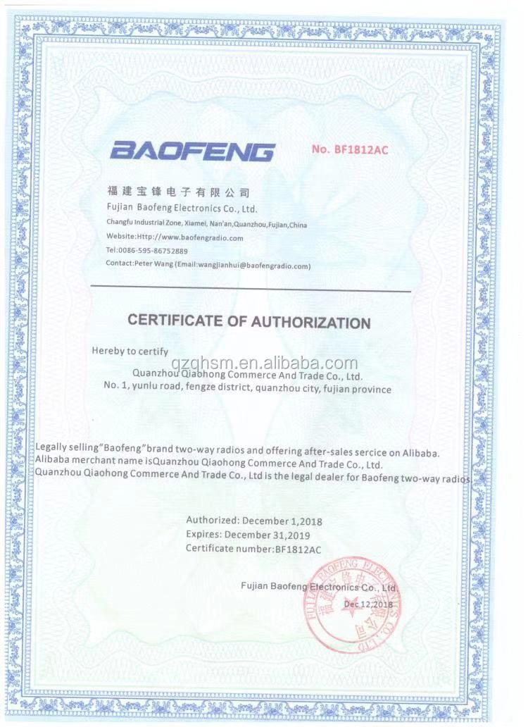 Baofeng UV-6R Walkie + 5R Talkie UHF VHF Dual Band Rádio em Dois Sentidos +