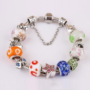 2015 Fashion handmade bracelet China supplier fashion bead bracelet