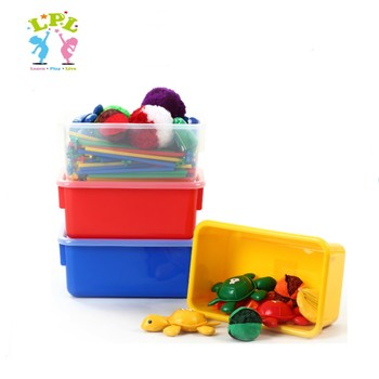 School Specialty And Lakeshore Learning Specified Use Pp Material Plastic  Toy Storage Box/bin