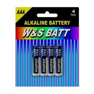 Mercury Free 1.5v aaa am4 lr03 China Alkaline Dry Cell Battery