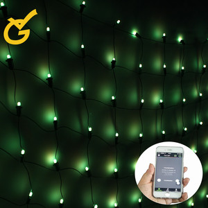 Advanced Tech Bluetooth APP Controlled RGB Christmas Outdoor Indoor Commercial Light String