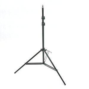 Guangzhou supplier cheap aluminum 190cm photo studio led right light stand