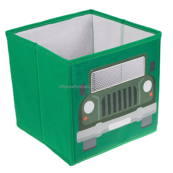 Green Army Truck Collapsible Storage Box And Closet Organizer