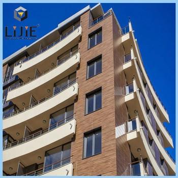 Lijie Hot Vente Hpl Mur Extrieur Rsine Phnolique Revtement